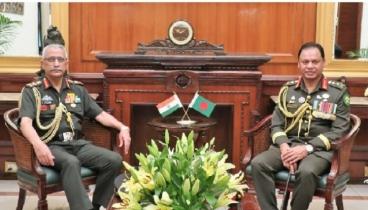 ভারতের সেনাপ্রধানের সঙ্গে বাংলাদেশের সেনাপ্রধানের সাক্ষাৎ