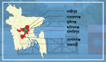 মঙ্গলবার থেকে ঢাকার ৭ জেলায় লকডাউন