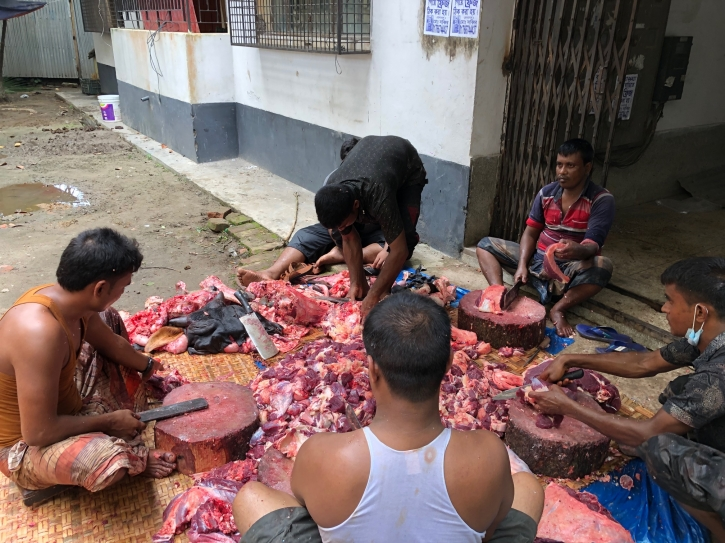 Butchers, most wanted persons in Eid!