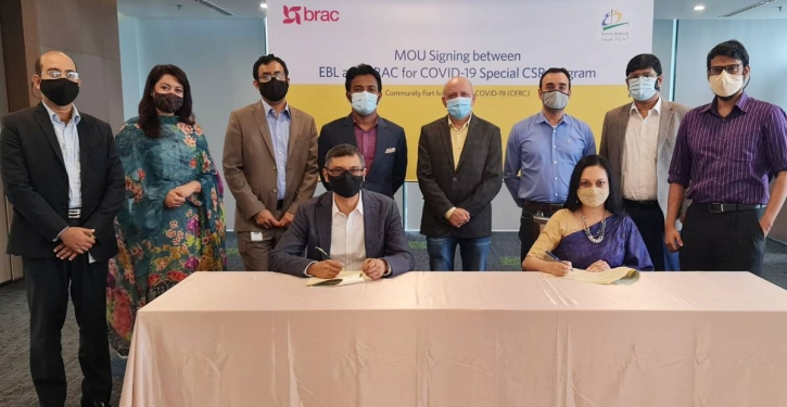 Eastern Bank, BRAC roll out special Covid-19 CSR programme