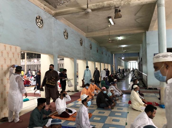 Central Eid congregation held at Baitul Mukarram Mosque