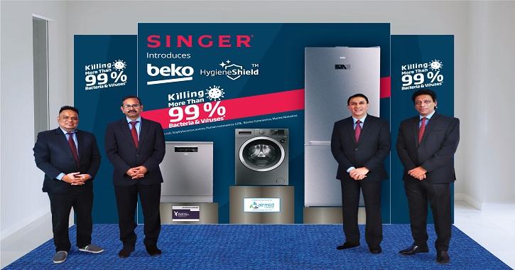 Singer launches HygieneShield appliances
