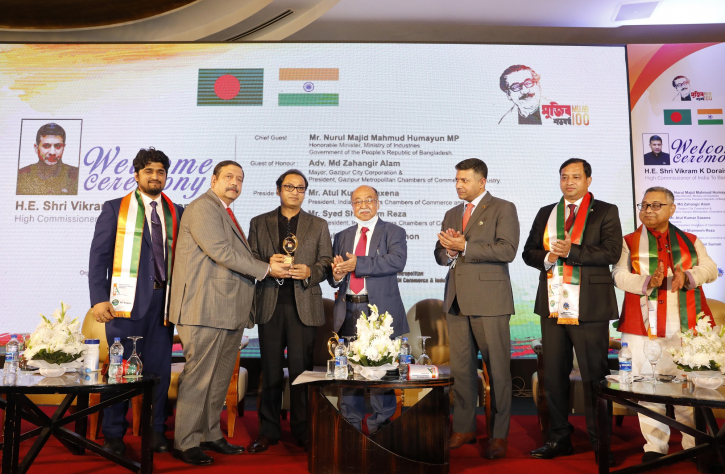 Bashundhara Group MD receives 'Best Excellence Award'