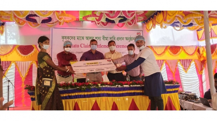 Shashya Surokkha Project brings smile to marginal farmers' faces