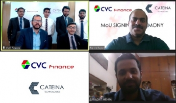 CVC Finance Limited signs MoU with Cateina Technologies