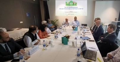 EU, Bangladesh climate specialists set out expectations for COP26 meet