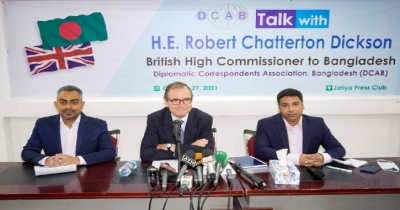 COP26: Dickson says Bangladesh has particular role in 3 areas