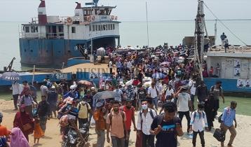 Shimulia-Banglabazar ghat witnesses large crowd