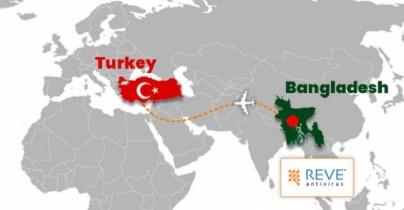 Bangladesh's REVE Antivirus starts its journey in Turkey