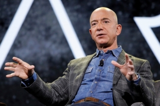 What do people say about Bezos' space journey?