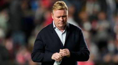 Barca coach Koeman sacked