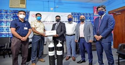 LankaBangla Foundation distributes PPE in Faridpur