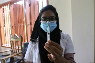 In Pictures: Mass vaccination drive for 2nd dose begins