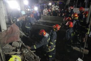 In Pictures: Moghbazar blast