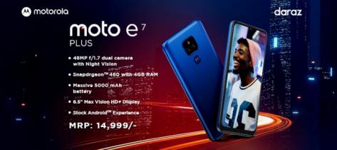 Motorola brings moto e7 plus