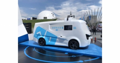 Alibaba to develop self-driving trucks with logistics unit