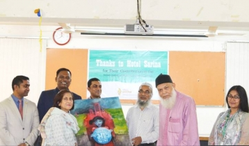 Hotel Sarina raises funds for Dhaka Ahsania Mission with painting workshop