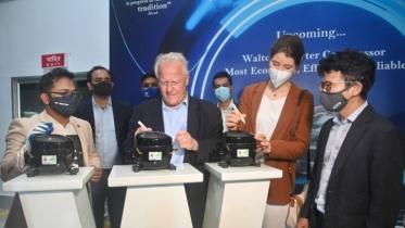 German ambassador applauds Walton's success
