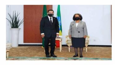 Bangladesh envoy presents credentials to Ethiopian president