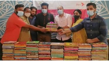 BKash provides 15,000 books to 27 organisations for underprivileged children