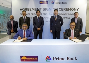 Prime Bank signs agreement with Guardian Life Insurance