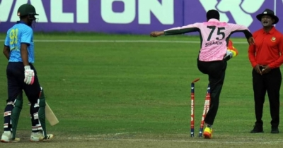 Shakib suspended for 3 matches, fined Tk 5 lakh