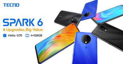 TECNO launches Spark 6