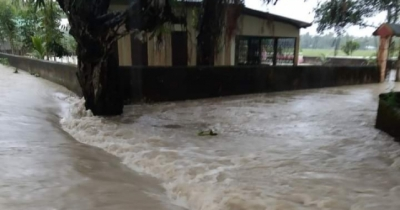Teesta flows above danger level, red alert issued
