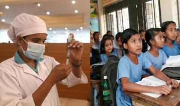 Schoolchildren to be jabbed from Nov 1: Health minister