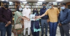 Zahiduzzaman Faruque family hand over budget documents of 52yrs to ERF Library