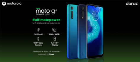 Everything you need to know about moto g8 power lite