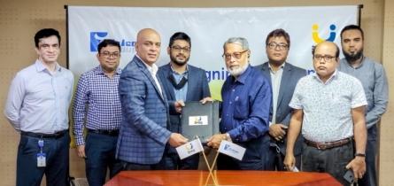 Upay, Falcon Group sign agreement on salary disbursement