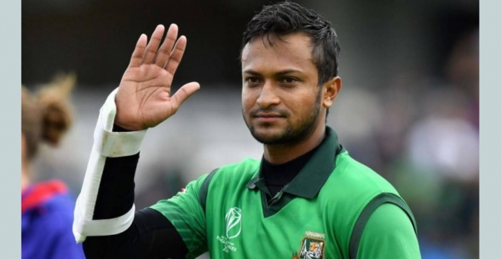 Superb Shakib leads Bangladesh to win series