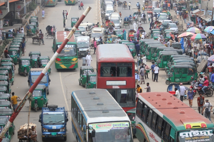 In Pictures: Transport services return to normal