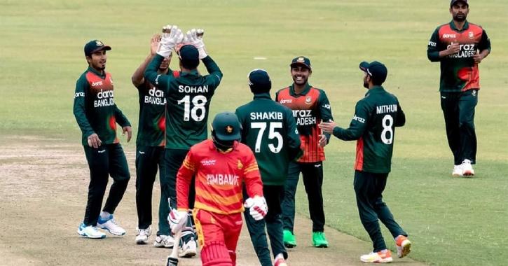 Shakib bags five as Bangladesh register emphatic win vs Zimbabwe