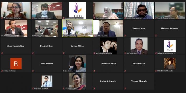 IUB hosts webinar on National Budget and Education Sector