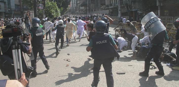 রাজধানীতে সংঘর্ষ: ৪ হাজার জনকে আসামি করে মামলা